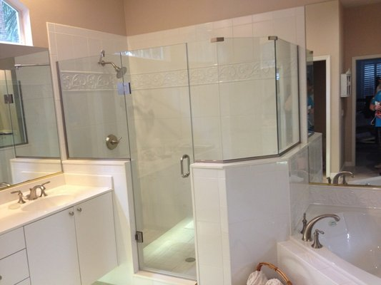 Steam Shower Doors Residential And Commercial Glass Services Orange City FL